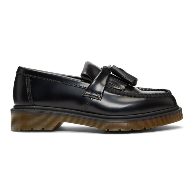 Photo: Dr. Martens Black Leather Adrian Loafers