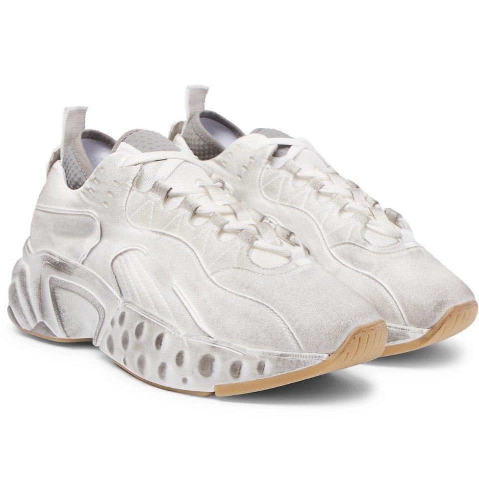 Rockaway Distressed Suede Sneakers