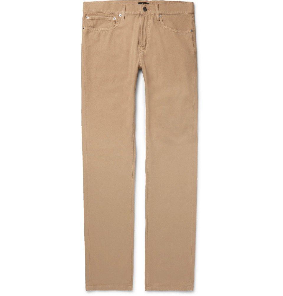 Dunhill - Slim-Fit Denim Jeans - Men - Camel