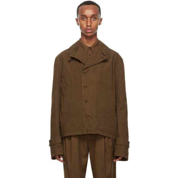 Photo: Lemaire Brown Field Jacket