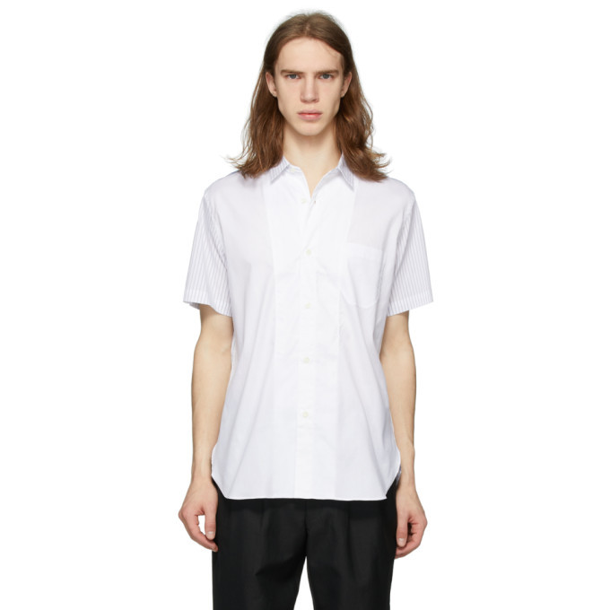 Photo: Junya Watanabe White End-On-End Short Sleeve Shirt