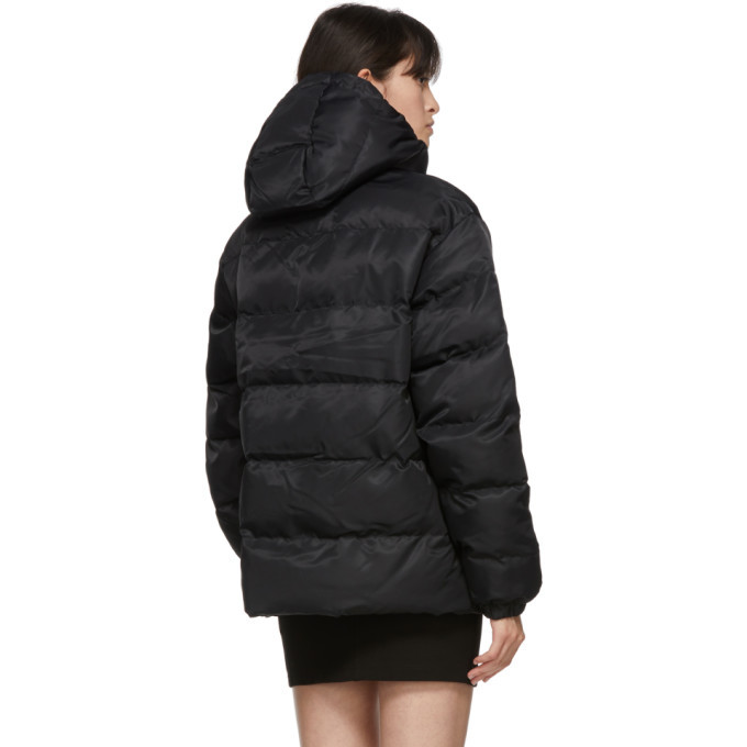 1017 ALYX 9SM Black Buckle Puffer Jacket