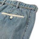 Sacai - Tapered Zip-Detailed Denim Jeans - Navy