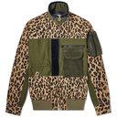 Sacai Leopard Blouson