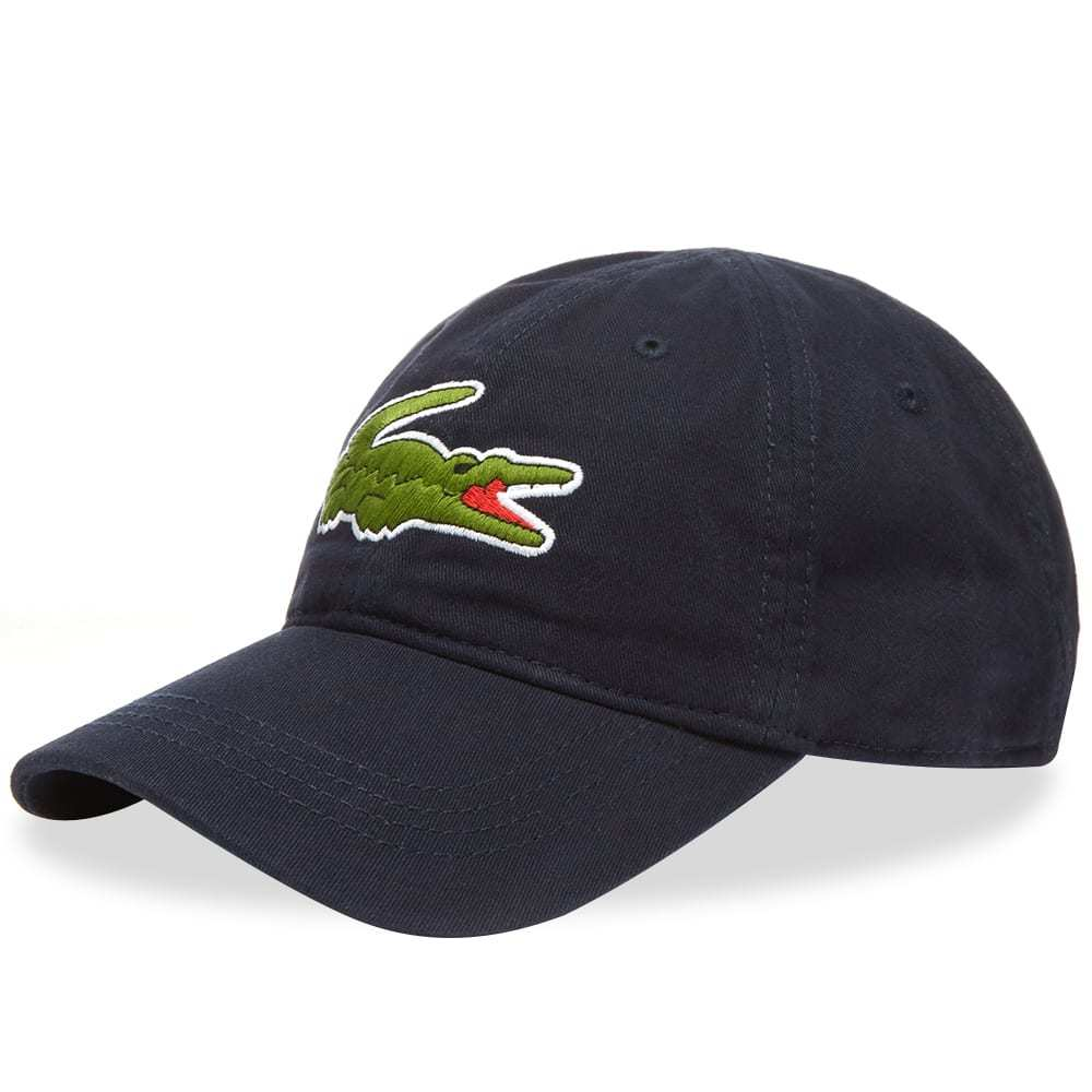 Photo: Lacoste Big Croc Logo Cap Navy