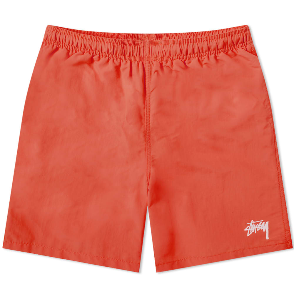 Photo: Stussy Stock Water Short Red