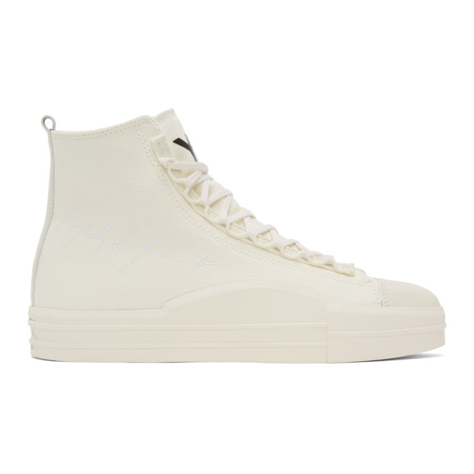 Y-3 Off-White Yuben Mid Sneakers