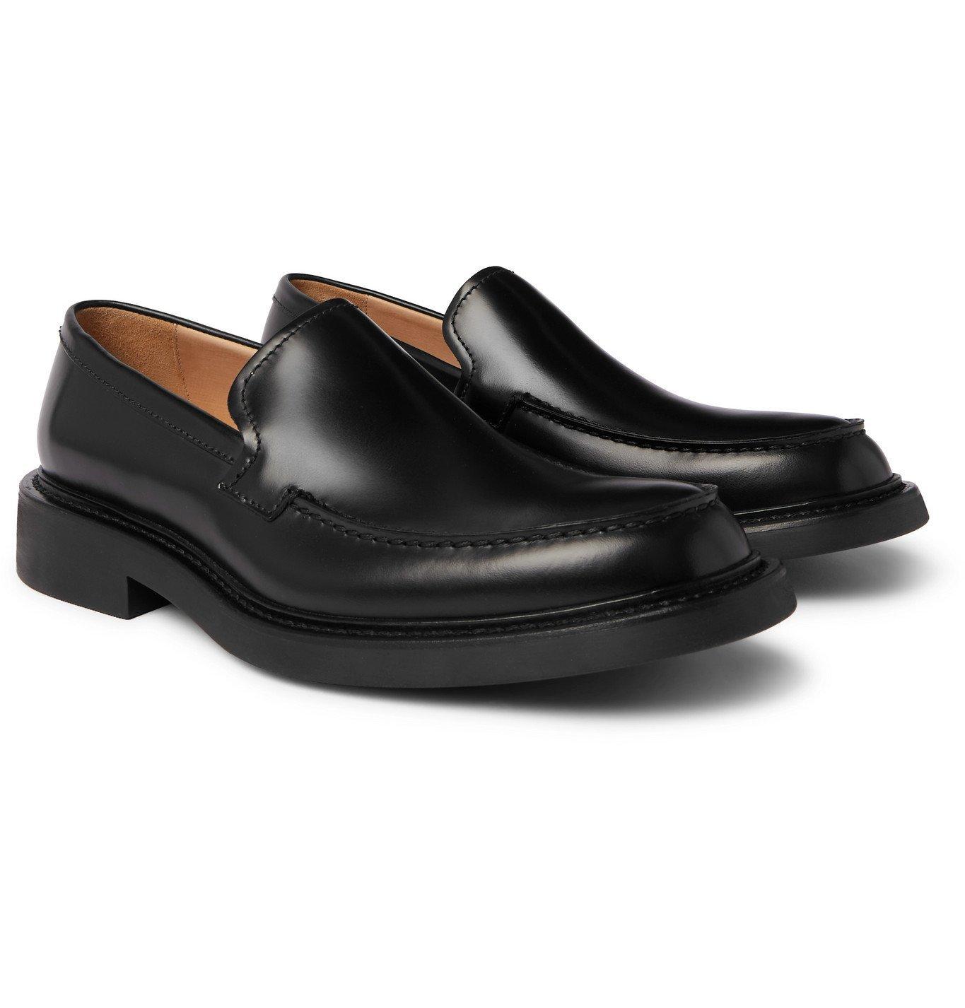 Photo: BOTTEGA VENETA - Level Leather Loafers - Black