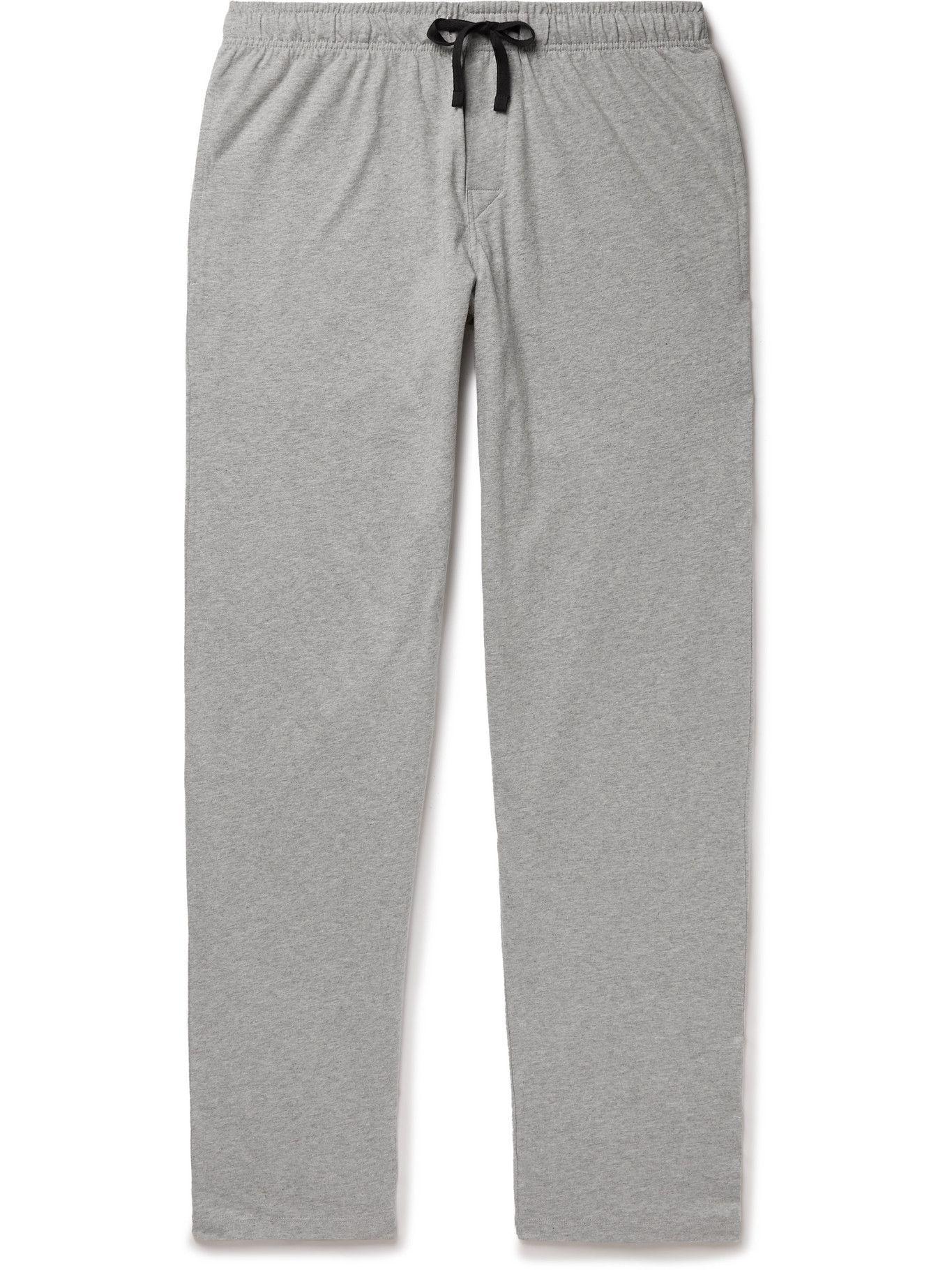 Photo: Schiesser - Josef Cotton-Jersey Pyjama Trousers - Gray