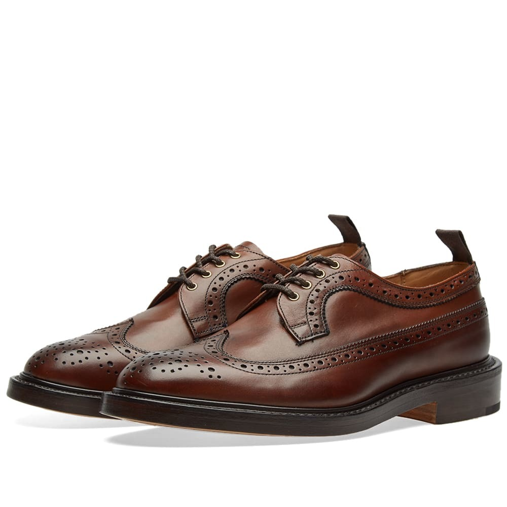 Photo: END. x Tricker's Richard Golosh Brogue Chestnut Burnished Leather
