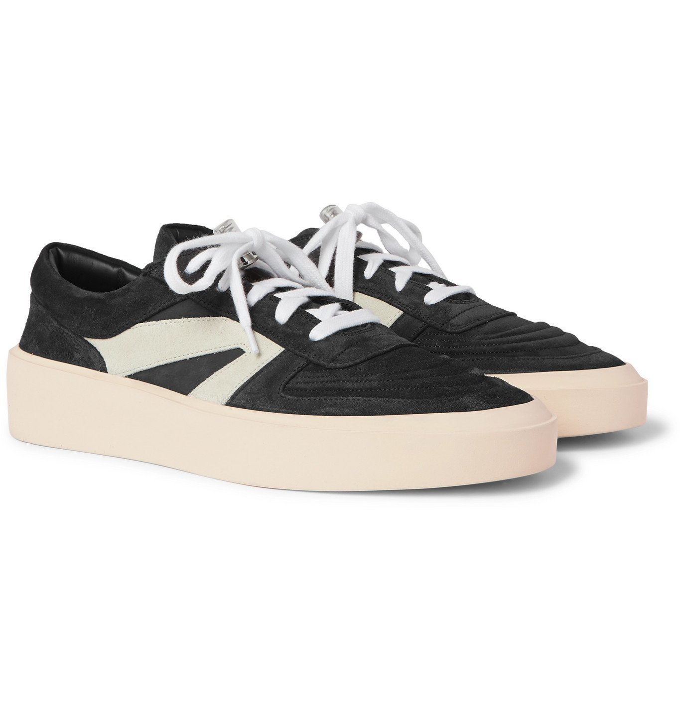 Photo: Fear of God - Suede Sneakers - Black