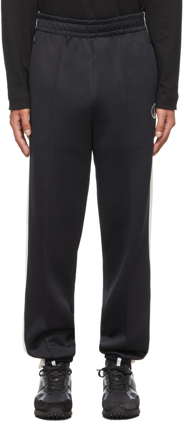 Dunhill Black Nylon Jersey Lounge Pants