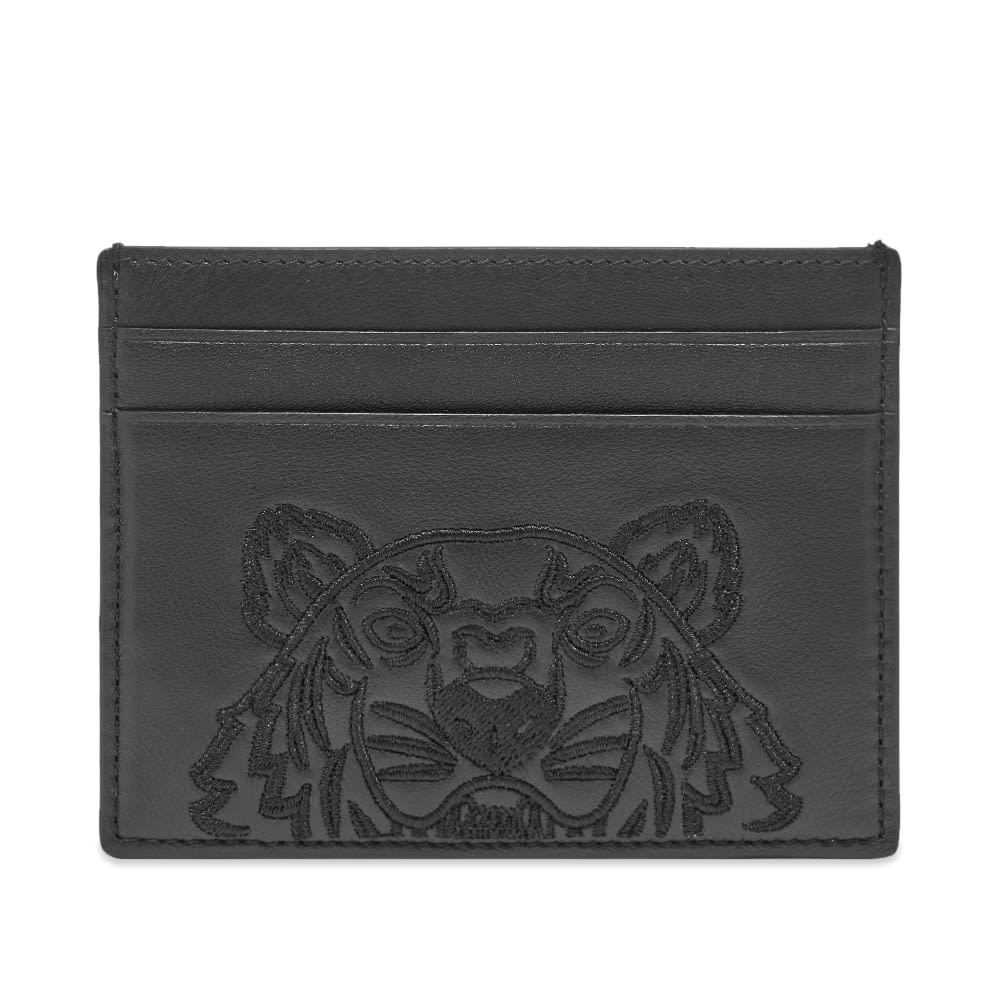 Photo: Kenzo Large Embossed Leather Tiger Card Holder