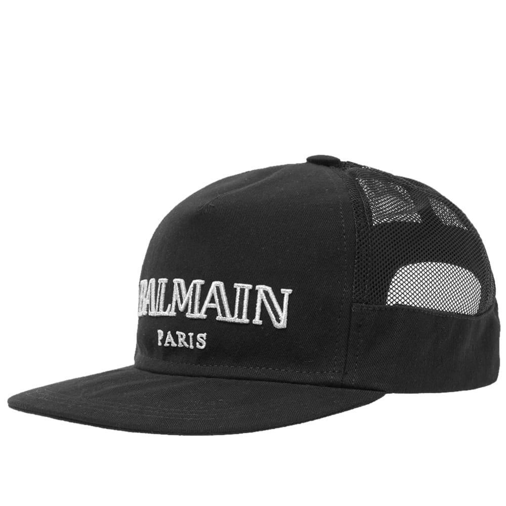 Photo: Balmain Logo Cap Black