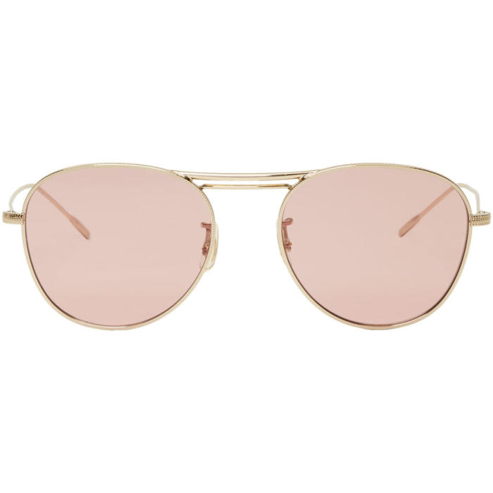Oliver Peoples Gold Cade Sunglasses