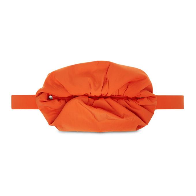 Photo: Bottega Veneta Orange The Body Pouch