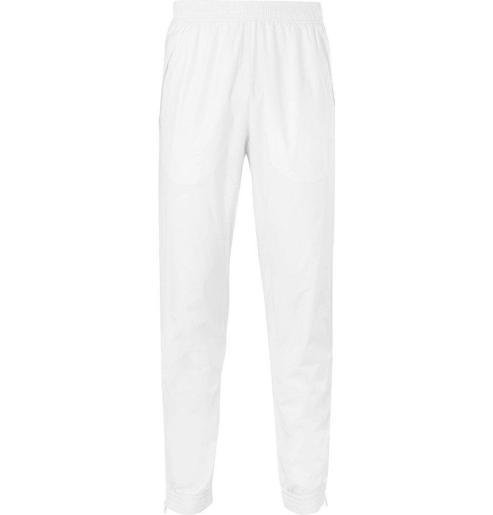 Photo: Adidas Sport - Stella McCartney Mesh-Panelled Shell Track Pants - White