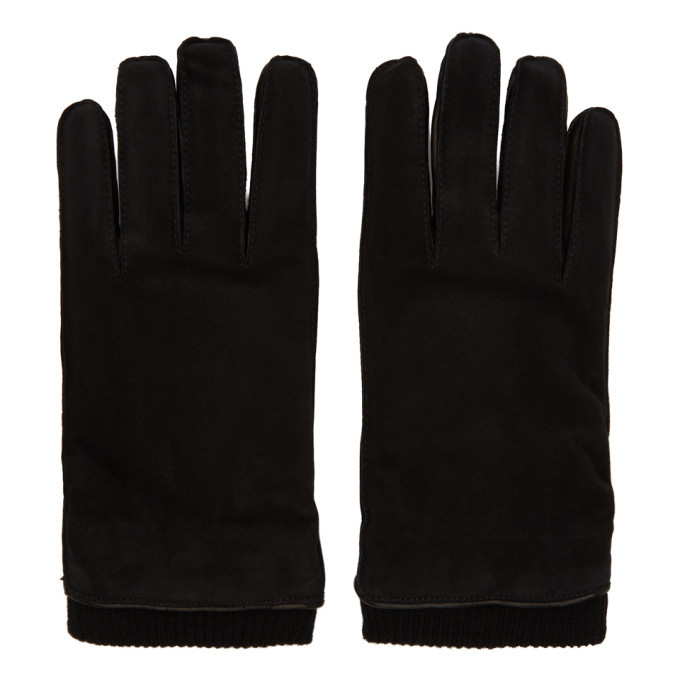 Photo: Giorgio Armani Black Lambskin Gloves