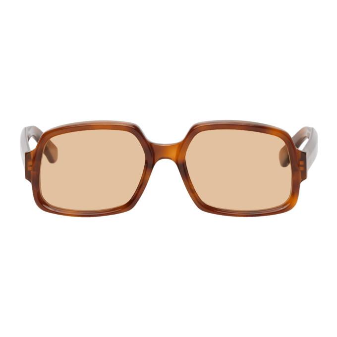 Photo: Gucci Tortoiseshell Rectangular Sunglasses