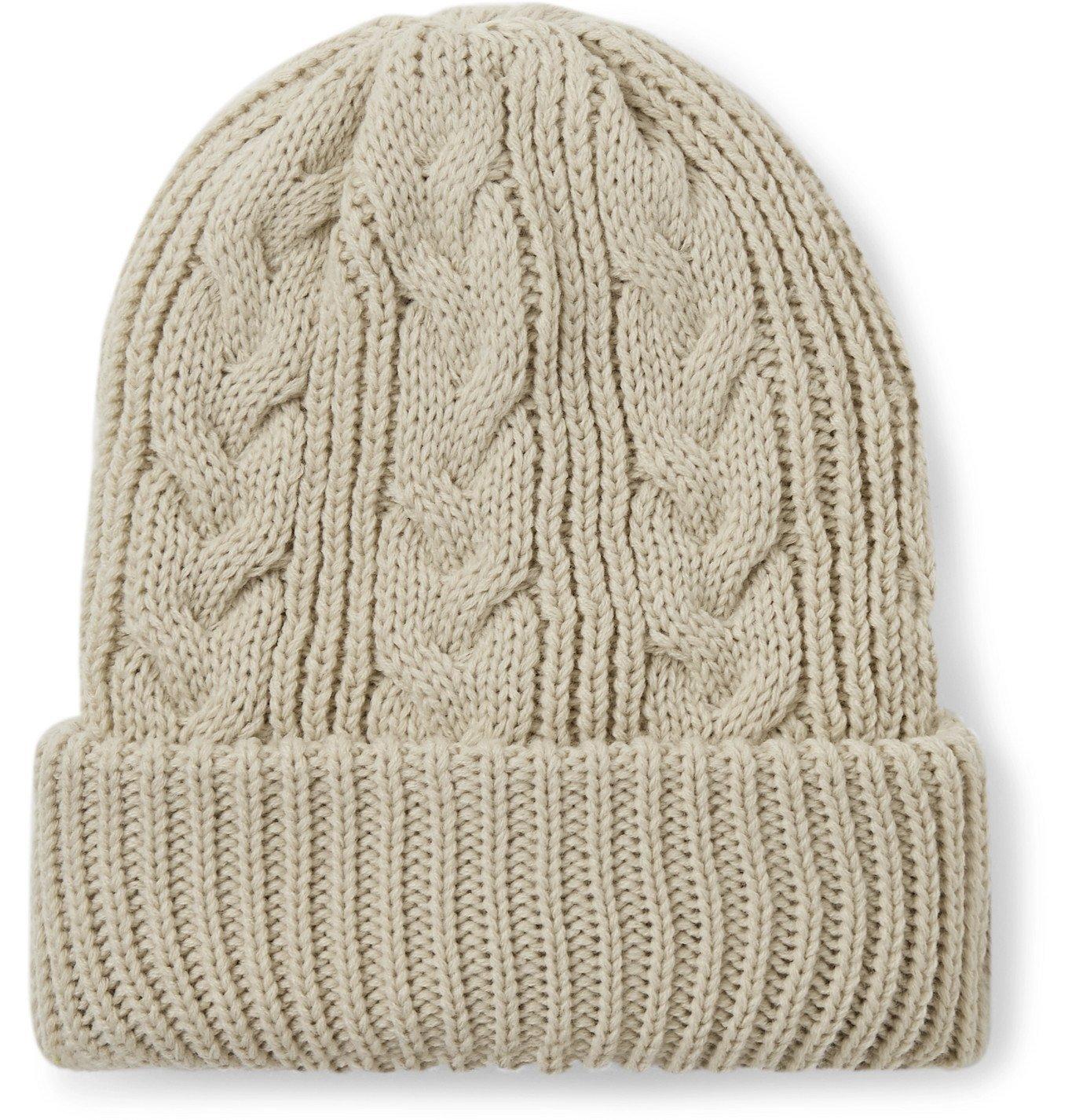 Photo: Adsum - Cable-Knit Beanie - Neutrals