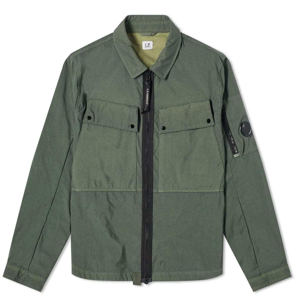 Photo: C.P. Company Taylon P Zip Overshirt