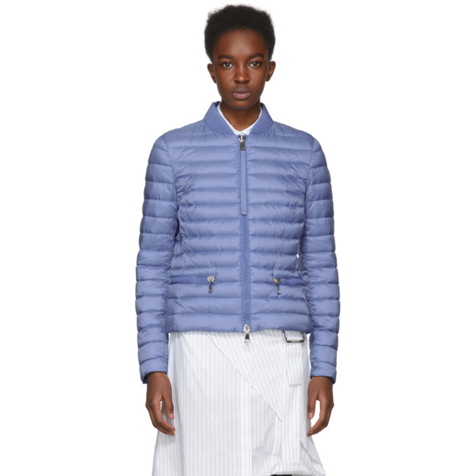 Photo: Moncler Blue Down Blen Jacket
