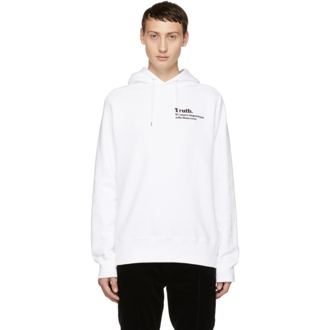Photo: Sacai White Truth Hoodie