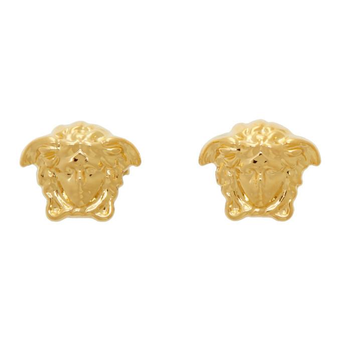 Photo: Versace Gold Medusa Stud Earrings