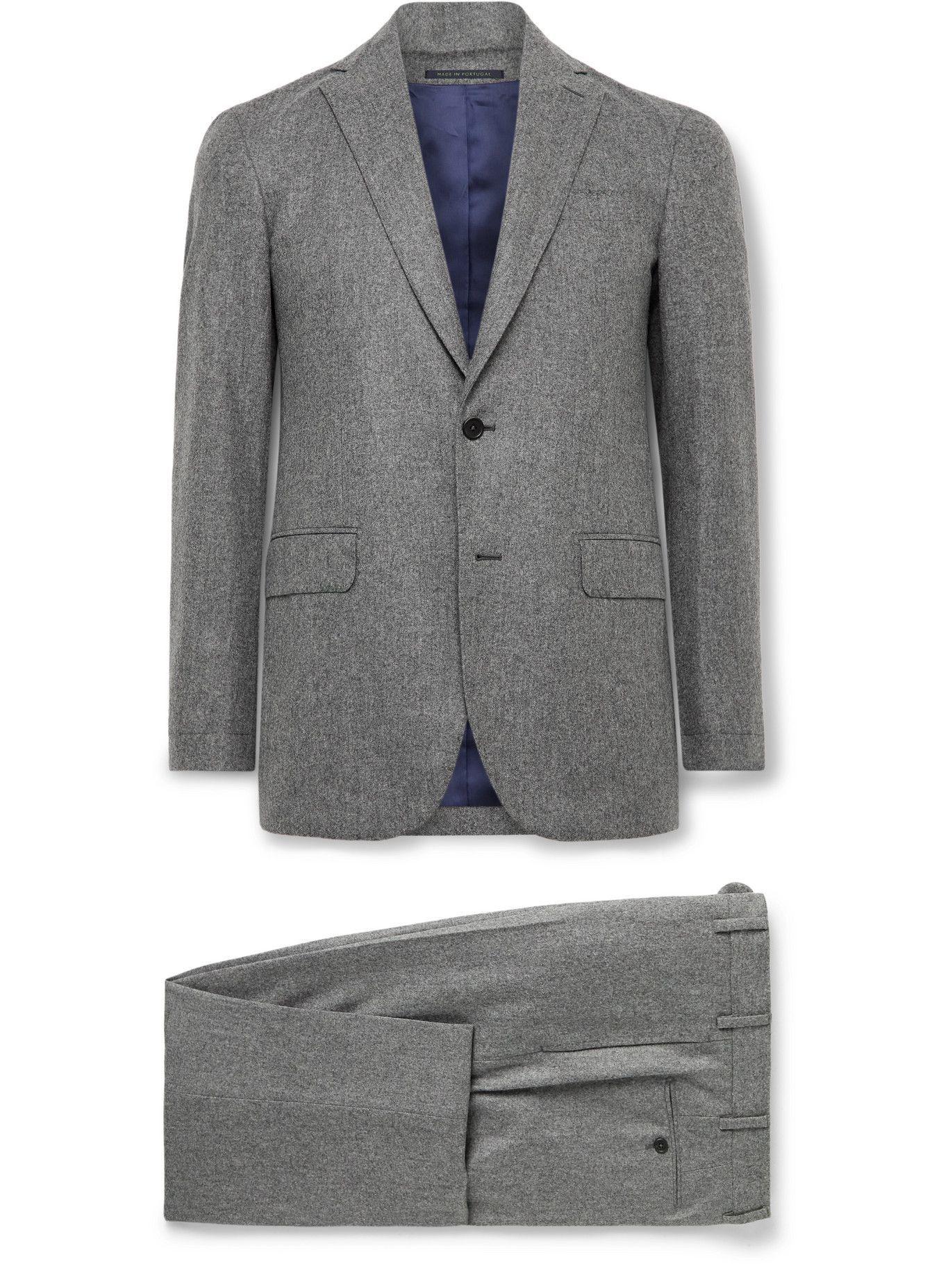 Photo: Sid Mashburn - Virgil No. 2 Wool-Flannel Suit - Gray