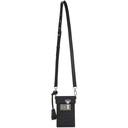 Dunhill Black and Grey Signature Lock Bag