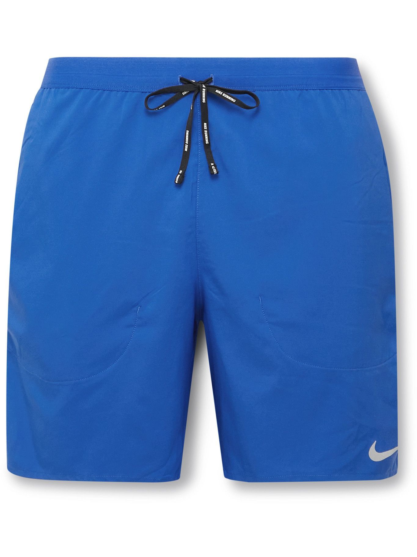 Photo: Nike Running - Flex Stride Dri-FIT Stretch-Shell Shorts - Blue