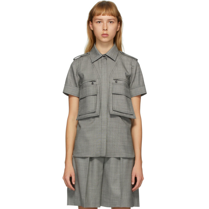 Max Mara Grey Dovere Shirt