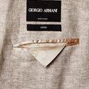 GIORGIO ARMANI - Mélange Linen-Blend Suit Jacket - Neutrals