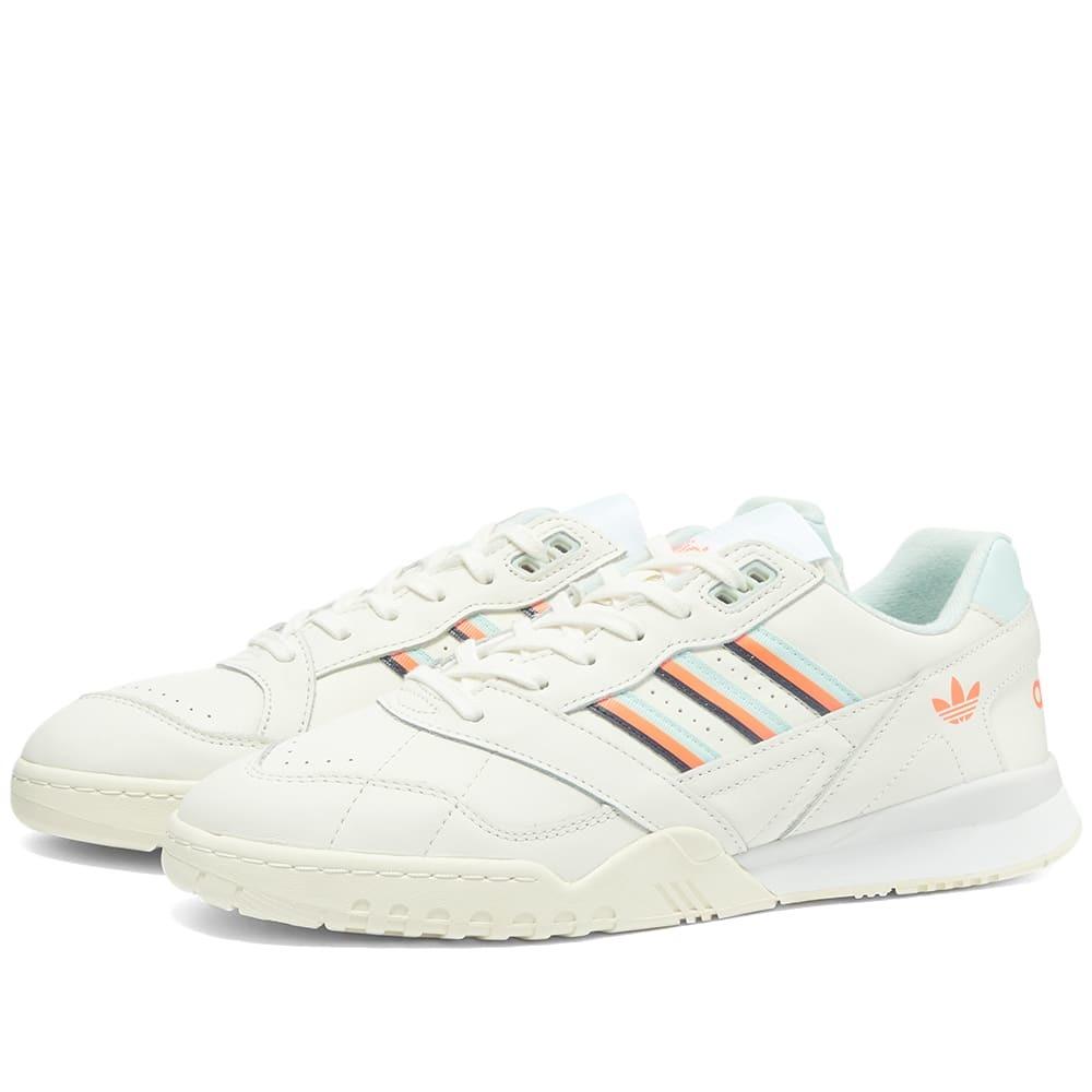Adidas A.R. Trainer Cloud White, Mint & Orange