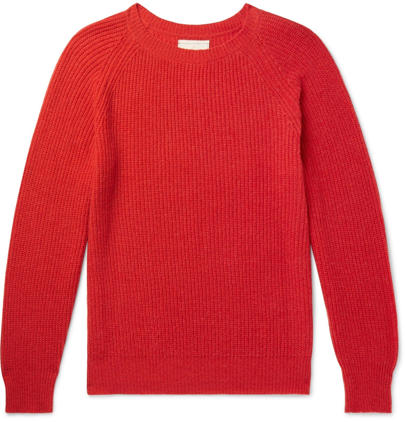 Photo: Tempus Now - Cashmere and Wool-Blend Sweater - Red