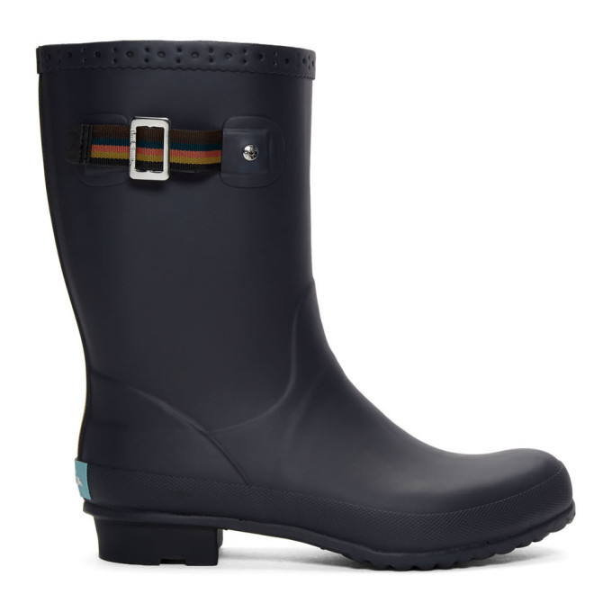 Photo: Paul Smith Navy Rubber Krupa Boots