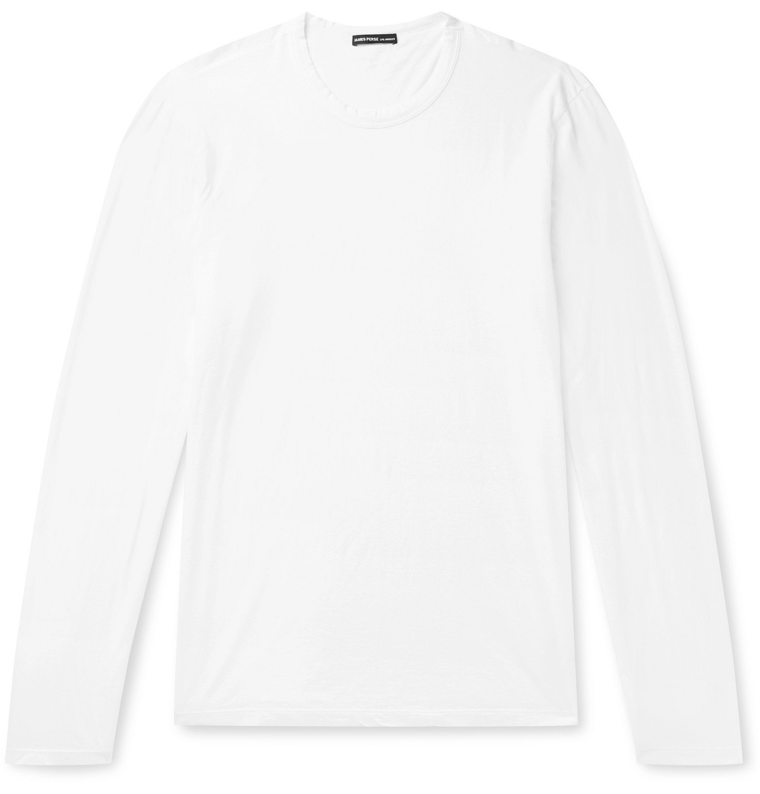 Photo: James Perse - Lotus Slim-Fit Cotton-Jersey T-Shirt - White