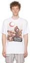 Raf Simons White Print 'Solidarity Disorder' T-Shirt
