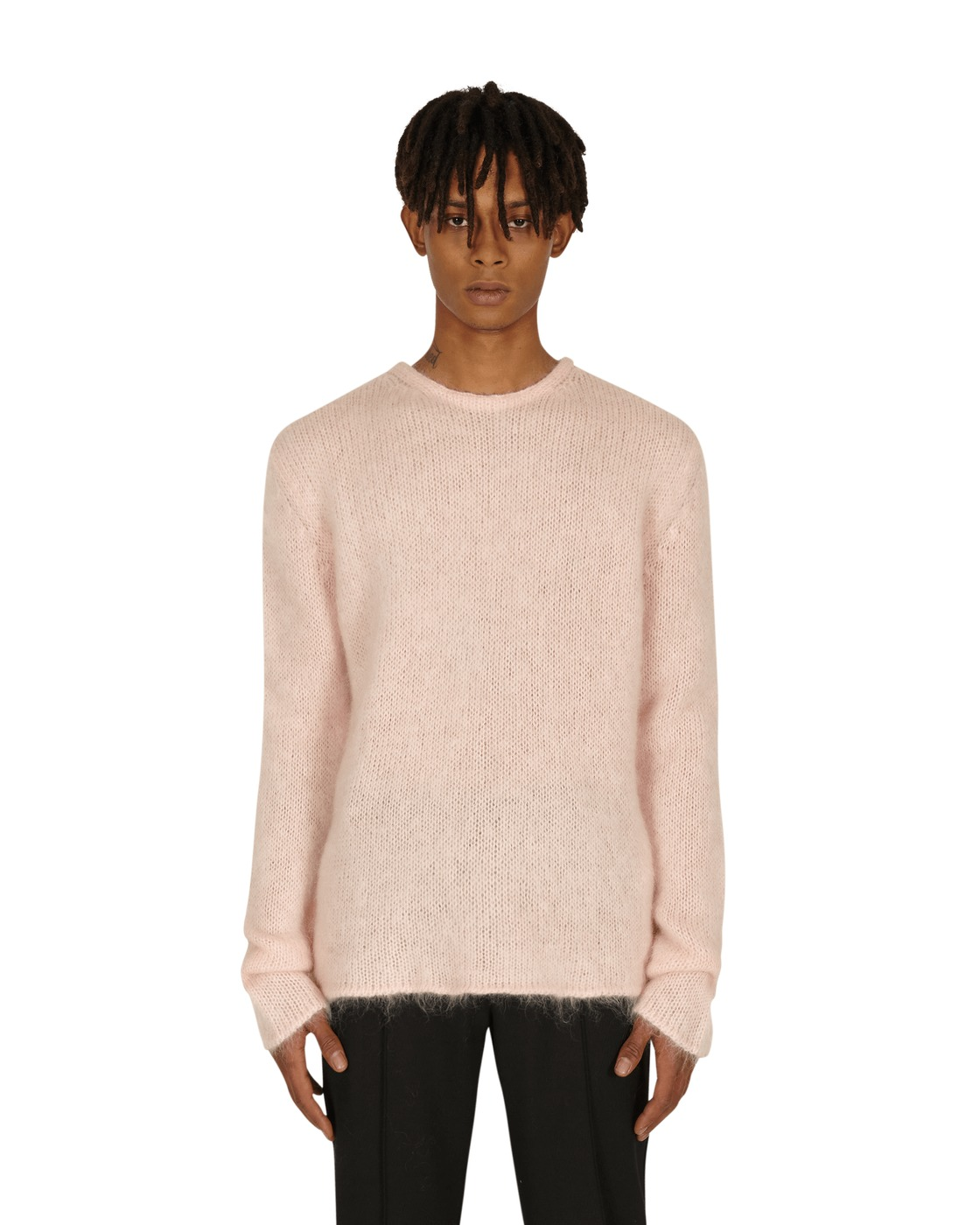 1017 Alyx 9sm Mohair Jumper Ghost Pink
