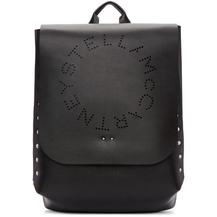 Photo: Stella McCartney Black Logo Backpack