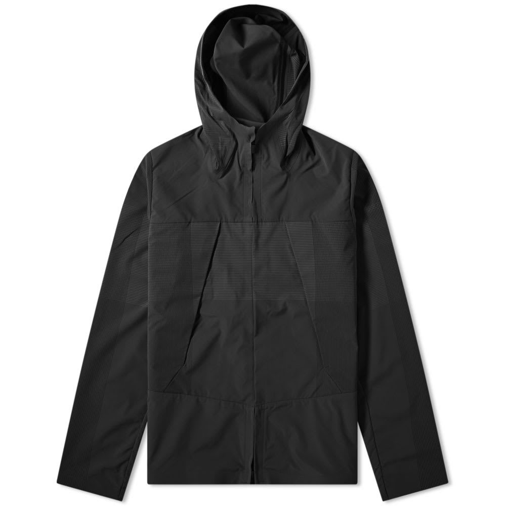 Photo: Descente Allterrain Schematech Air Hooded Jacket Black