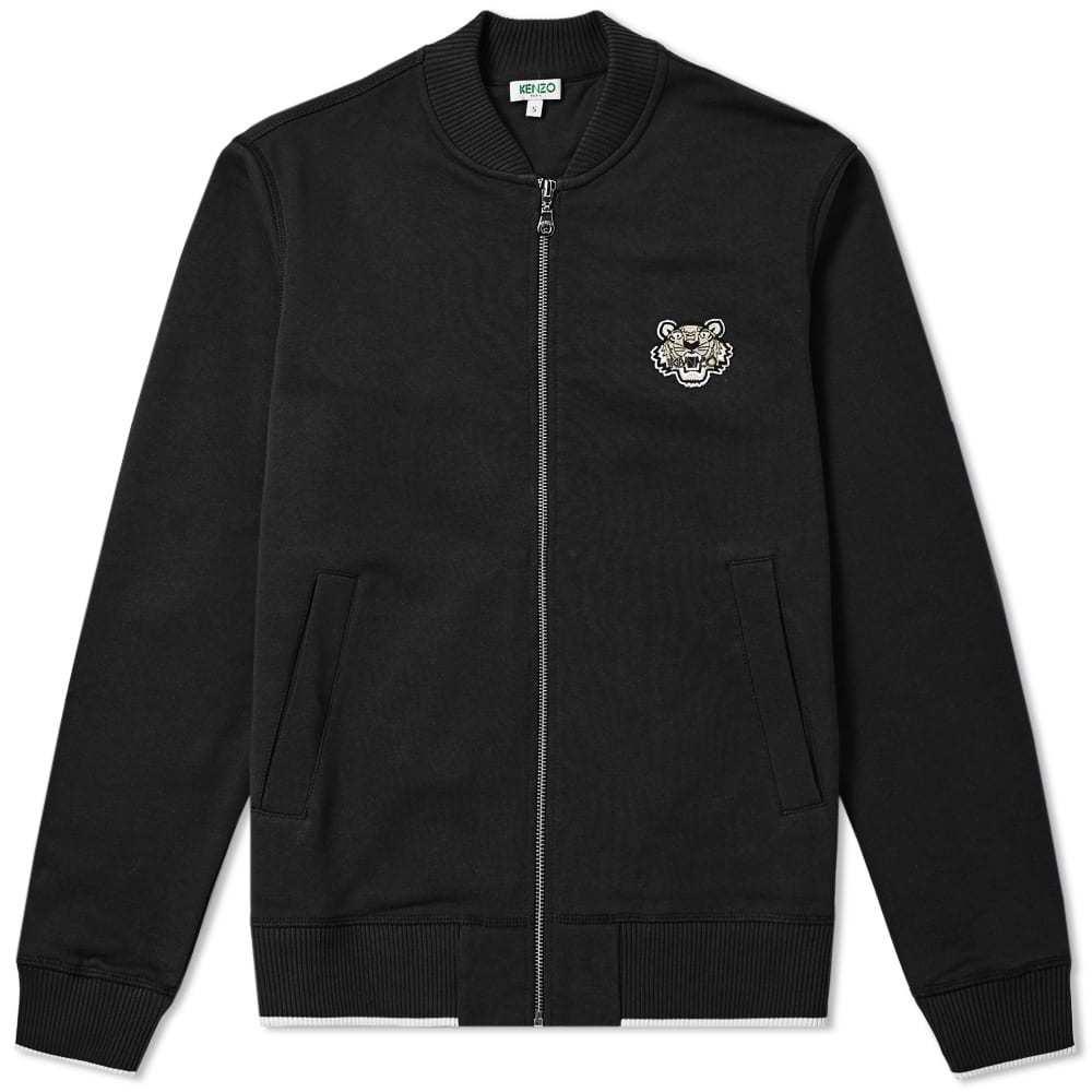 Photo: Kenzo Tiger Logo Zip Bomber Jacket