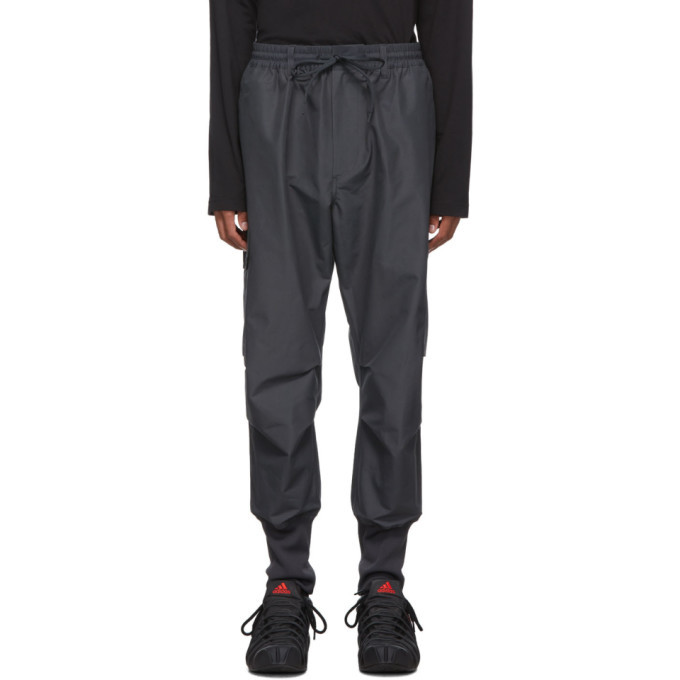 Y-3 Grey Carbon Cargo Pants