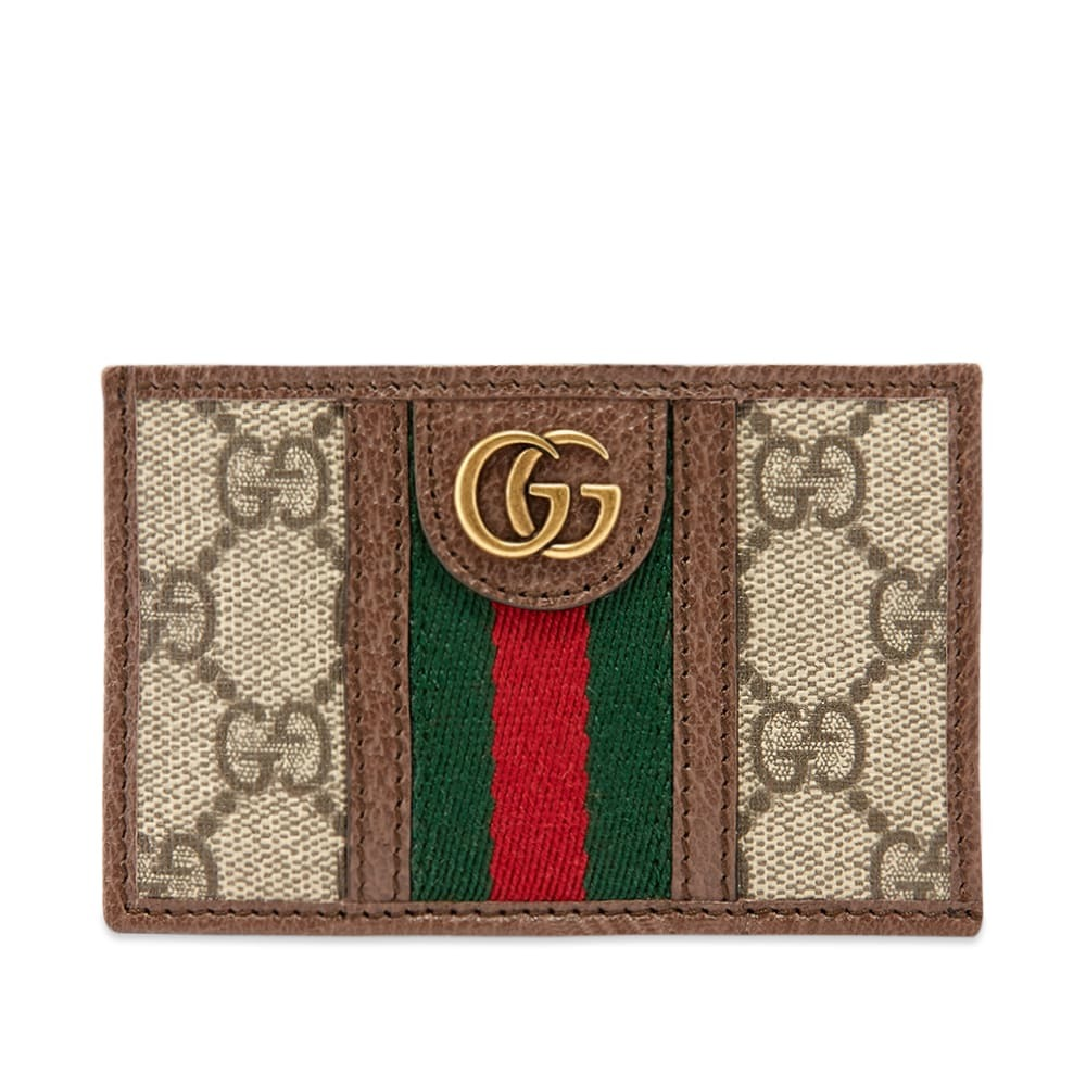 Photo: Gucci Ophidia Tape GG Logo Card Holder