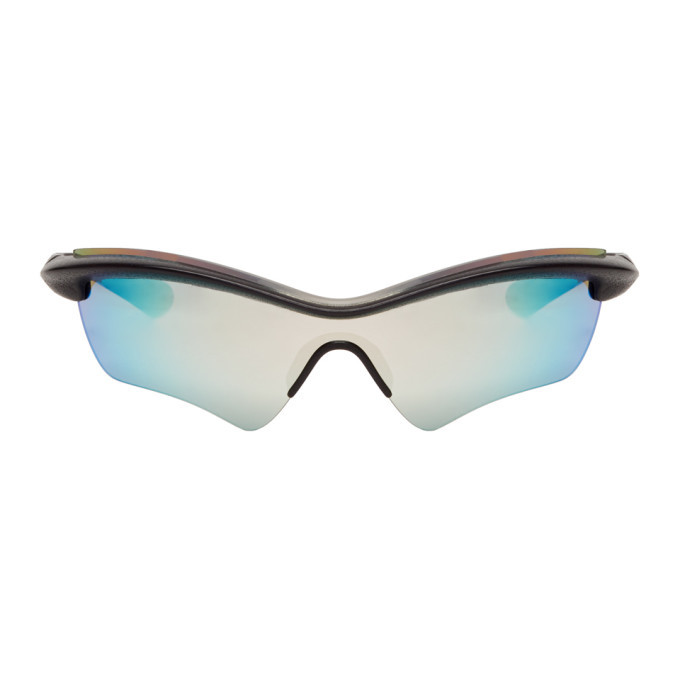 Photo: Maison Margiela Black and Blue Mykita Edition MMECHO005 Sunglasses