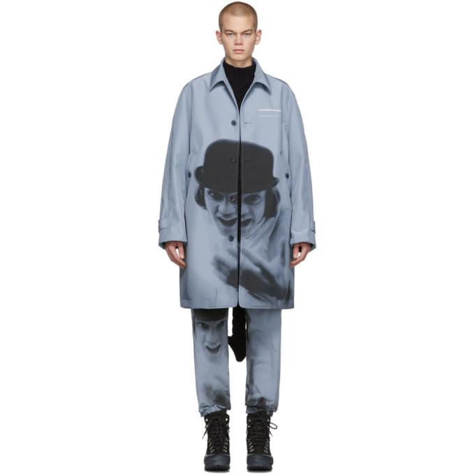 Photo: Undercover Blue A Clockwork Orange Alex Print Coat