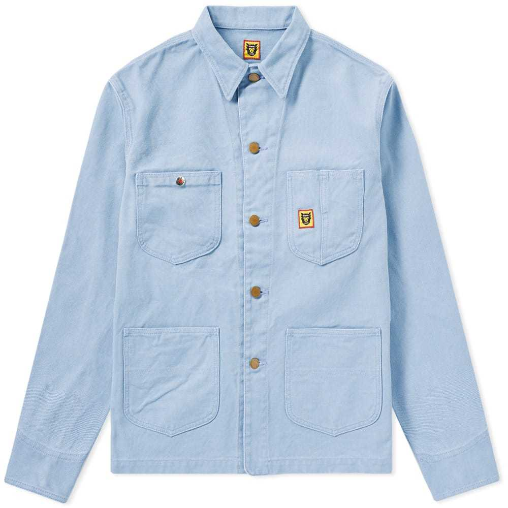 Photo: Human Made Pastel Coverall Jacket Blue
