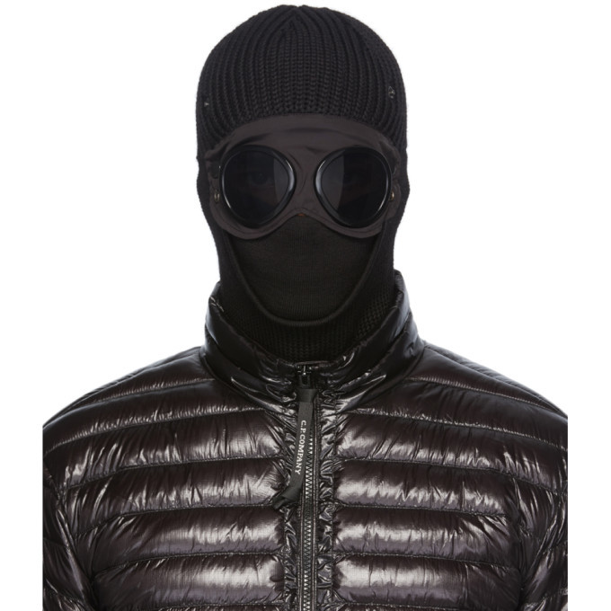 Photo: C.P. Company Black Wool Goggle Ski Mask