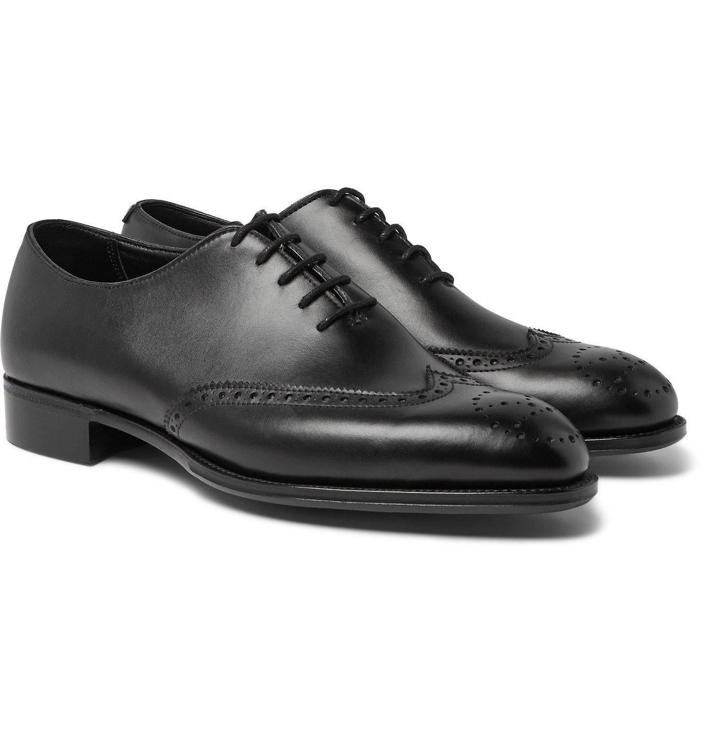 Photo: Kingsman - George Cleverley Leather Brogues - Black