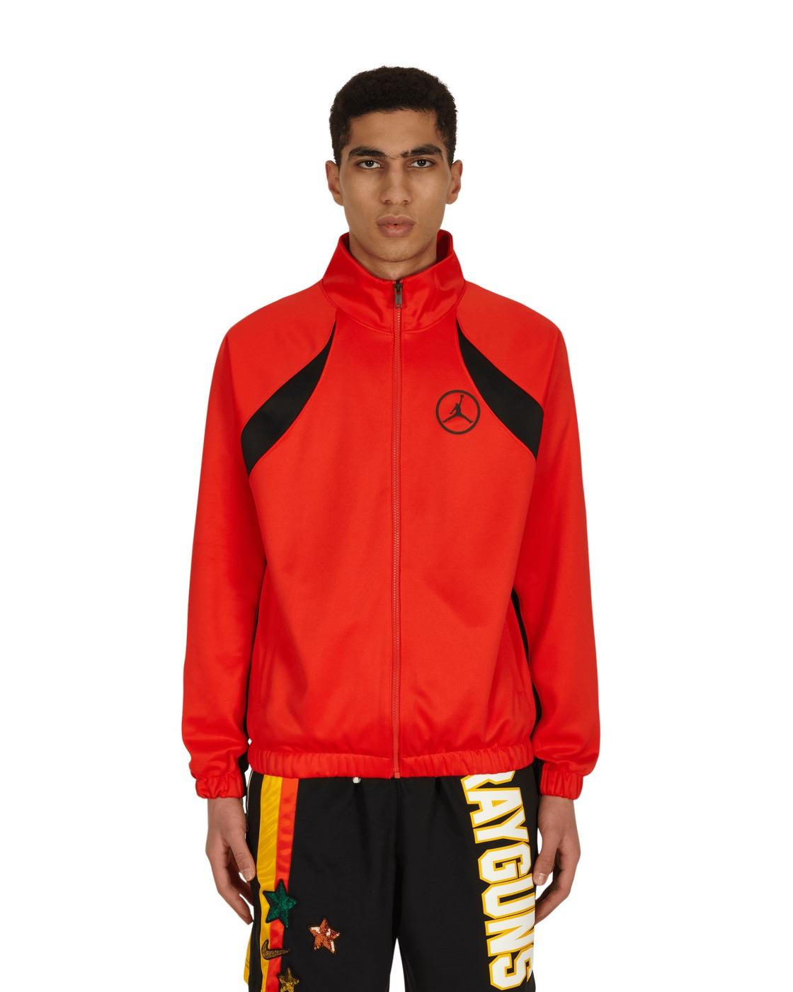 Photo: Nike Jordan Sport Dna Track Jacket Chile Red/Black